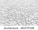 brick flooring pattern paving... | Shutterstock . vector #381979108