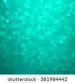 vector abstract orange color... | Shutterstock .eps vector #381984442