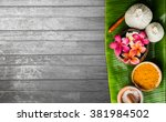 spa massage background | Shutterstock . vector #381984502
