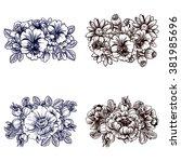 flower set   Shutterstock . vector #381985696