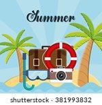 travel icons design  | Shutterstock .eps vector #381993832
