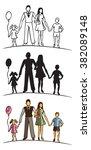 illustration of family...   Shutterstock .eps vector #382089148