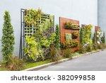 Beautiful Vertical Garden In...