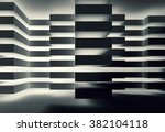 abstract dark interior design... | Shutterstock . vector #382104118