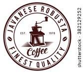 Vintage Coffee Logo Badges