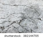 Cracked concrete texture closeup background - stock photo