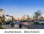 shopping mall in the nightfall | Shutterstock . vector #382152622