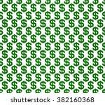 dollar seamless pattern... | Shutterstock .eps vector #382160368