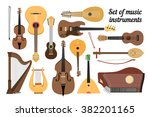 Set Of Stringed Musical...