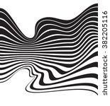 optical art background wave... | Shutterstock .eps vector #382205116