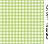 green seamless gingham pattern... | Shutterstock .eps vector #382217842