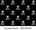skull pattern   Shutterstock .eps vector #38223364