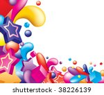 vector. abstract colorful...