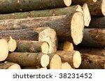 felled trees | Shutterstock . vector #38231452