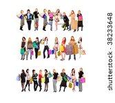 go shopping  | Shutterstock . vector #38233648