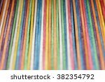 colorful wooden sticks with
