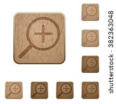set of carved wooden zoom in...