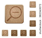 set of carved wooden zoom out...