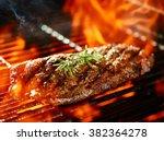 Flat Iron Steak Cooking On...