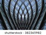 digitally rendered modern  ... | Shutterstock . vector #382365982