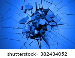 abstract 3d rendering of... | Shutterstock . vector #382434052