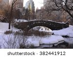 Central Park In New York City...