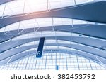 international airport terminal  | Shutterstock . vector #382453792