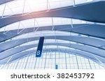 international airport terminal  | Shutterstock . vector #382453792