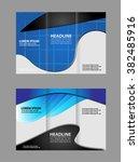 brochure template  | Shutterstock .eps vector #382485916