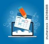 mark circle your calendar...   Shutterstock .eps vector #382486888