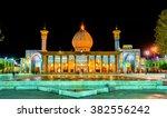 shah cheragh  a funerary... | Shutterstock . vector #382556242