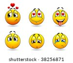 set of pretty smiles balls....