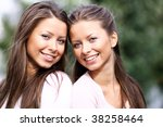 twins of sister | Shutterstock . vector #38258464
