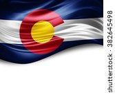 colorado of silk with copyspace ...   Shutterstock . vector #382645498