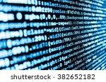 website codes on computer...   Shutterstock . vector #382652182