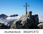 The Top Cross At Gerlach Peak ...