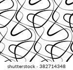 abstract vector seamless floral ... | Shutterstock .eps vector #382714348