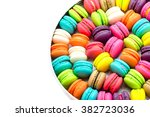 a french sweet delicacy ... | Shutterstock . vector #382723036
