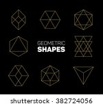 abstract modern geometry shapes ... | Shutterstock .eps vector #382724056