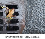Storm Drain On The Streets Of...