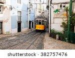 lisbon  portugal   february 02  ... | Shutterstock . vector #382757476