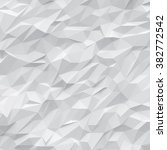 white polygons background | Shutterstock . vector #382772542