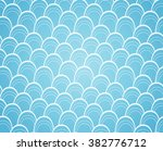 light blue abstract waves... | Shutterstock .eps vector #382776712