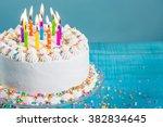 Buttercream Birthday Cake With...
