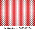 concept conceptual red abstract ... | Shutterstock . vector #382901986