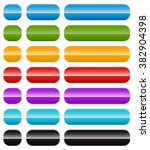 set of colorful banner or...   Shutterstock . vector #382904398