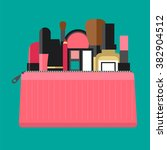 flat icon of cosmetics product. ... | Shutterstock .eps vector #382904512