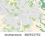 vector city map of enschede ... | Shutterstock .eps vector #382922752