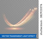 vector magic glowing spark... | Shutterstock .eps vector #382923376