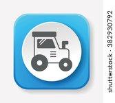 cargo truck icon | Shutterstock .eps vector #382930792